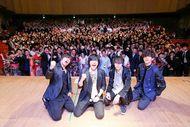 1月12日に地元、大阪松原市の成人式でサプライズLIVE