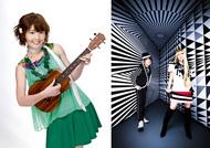 """野中藍ツアー最終日に""""のなぢぇら""""を結成することになった野中藍(左)とangela(右)のKATSU、atsuko"""