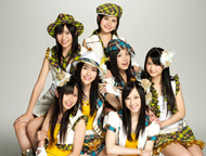 2ndシングル「青空片想い」をリリースするSKE48選抜メンバー7名