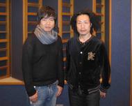 左:中井和哉さん、右:竹本英史さん