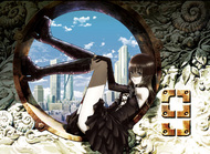 制作会社も未公開ながら、異例の先行公開となった「マルドゥック・スクランブル」 第1弾キービジュアル
