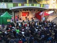 角田信朗 傾奇ライブツアー、1月18日(日)の名古屋でのツアーの様子