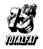 TOTALFAT 15年記念ロゴ
