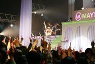 SHIBUYA-AXで「Amazing」ツアーのファイナルを迎えたMAY'S Listen Japan
