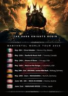『BABYMETAL WORLD TOUR 2015』