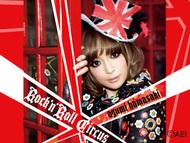浜崎あゆみ「うたピク」『Rock'n'Roll Circus』ジャケット写真CDテンプレート