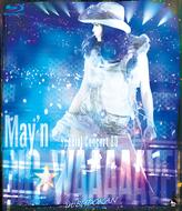 「May'n Special Concert DVD&BD「BIG☆WAAAAAVE!!」in日本武道館」Blu-rayジャケット画像