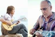 B'zの松本孝弘とラリー・カールトン。日米を代表するギタリストが共演