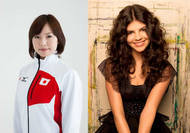 モントリオール出身のシンガー、ニッキーとカーリング日本代表、近江谷杏奈