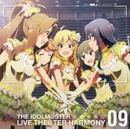 『THE IDOLM@STER LIVE THE@TER HARMONY 09』ジャケット画像 (C)窪岡俊之 (C)BANDAI NAMCO Games Inc. (C)BNGI/PROJECT iM@S 『THE IDOLM@STER LIVE THE@TER HARMONY 09』ジャケット画像 (C)窪岡俊之 (C)BANDAI NAMCO Games Inc. (C)BNGI/PROJECT iM@S