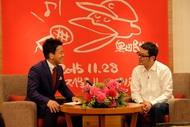 3月27日(金)に広島市内のホテル行われた記者会見写真