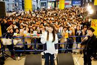 4月7日@渋谷マルイ前