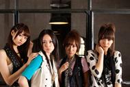 国内女性アーティスト初のライブ3D生中継を行うスフィア(左より、戸松遥、寿美菜子、高垣彩陽、豊崎愛生)