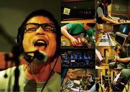 ソロ活動を開始したHUSKING BEEのフロントマン磯部正文 pic by 藤井拓