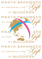 """「坂本真綾 15周年記念ライブ""""Gift"""" at 日本武道館」Blu-ray ジャケット画像"""