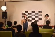 music.jpスペシャルライブに出演したコアラモード.