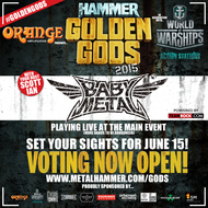 「METAL HAMMER GOLDEN GODS 2015」