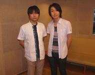 コメントを寄せて頂いた石田彰さん(左)、鈴村健一さん(右)