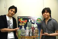 「ヘタリアin サンシャイン60展望台」トークイベントより、高橋広樹さん(左)、杉山紀彰さん(右)