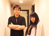 「Radioなおしゃべる。」より、伊藤賢治(左)、nao(右)