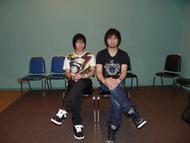 コメントを寄せて頂いた柿原徹也さん(左)、中村悠一さん(右)