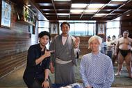 山田義孝が三つ編みを断髪