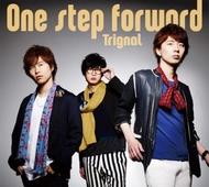 Trignal『One step forward』豪華盤ジャケット画像