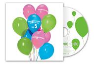 """東京ゲームショウ2010会場の""""スクウェア・エニックス ミュージック CDショップ""""でCDを購入した人にプレゼントされる「SQUARE ENIX MUSIC SAMPLER CD Vol.5」"""