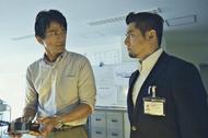 映画「天空の蜂」出演の江口洋介と本木雅弘 (C)2015「天空の蜂」製作委員会