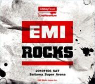 ジャケットが公開された「EMI ROCKSオフィシャル記念ライヴCD」