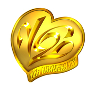 V6 デビュー20周年ロゴ