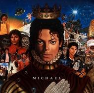 マイケル・ジャクソンのニューアルバム『MICHAEL』ジャケット写真