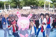 8月5日@代々木公園B地区野外ステージ