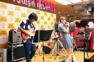 タワーレコード渋谷店 1Fにて行われたプレリリースイベントにて、メロキュアワンマンライブの開催が発表に (撮影:「日本コロムビア」/タワーレコード渋谷店)