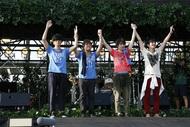 『flumpool 真夏の野外LIVE2015「FOR ROOTS」~オオサカ・フィールズ・フォーエバー』 photo by ほりた よしか
