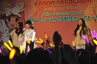 """「中川かのんデビューイベント 2010 WINTER """"ゆーでぃーえっくす制圧!いっくよー!""""」イベントの模様"""