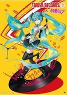 「初音ミク × TOWER RECORDS」メインビジュアル illustration by オサム (C)Crypton Future Media, INC. www.piapro.net 「初音ミク × TOWER RECORDS」メインビジュアル illustration by オサム (C)Crypton Future Media, INC. www.piapro.net