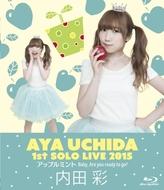 Blu-ray『内田彩 1stソロライブ「アップルミント Baby, Are you ready to go?」』ジャケット画像