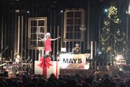 クリスマス・ワンマンライヴを開催したMAY'S Listen Japan