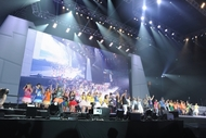 """""""Animelo Summer Live 2015 -THE GATE-""""8月30日(日)フィナーレの模様 (C)Animelo Summer Live 2015/MAGES. """"Animelo Summer Live 2015 -THE GATE-""""8月30日(日)フィナーレの模様 (C)Animelo Summer Live 2015/MAGES."""