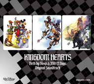 『KINGDOM HEARTS Birth by Sleep & 358/2 Days オリジナル・サウンドトラック』ジャケット画像 (C)Disney. Developed by SQUARE ENIX (C)Disney. Developed by SQUARE ENIX/h.a.n.d. ListenJapan 『KINGDOM HEARTS Birth by Sleep & 358/2 Days オリジナル・サウンドトラック』ジャケット画像 (C)Disney. Developed by SQUARE ENIX (C)Disney. Developed by SQUARE ENIX/h.a.n.d. ListenJapan