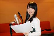 コメントを寄せて頂いた伊藤かな恵さんのアフレコ風景 ListenJapan