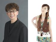「HYPNAGOGIA」に出演する声優の山寺宏一(左)、林原めぐみ(右) ListenJapan