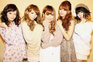 5人の人気読者モデルによるユニットLOVE to LOVE Listen Japan