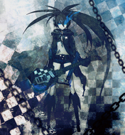 『BLACK★ROCK SHOOTER ANIMATION; ORIGINAL SOUNDTRACK & REMIXES』ジャケット画像 TamStar Records,B★RS Project,ALL RIGHTS RESERVRD.