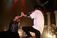 9月30日@赤坂BLITZ(葉月(lynch.)&清春(sads))