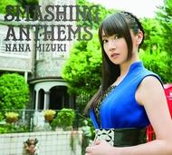 水樹奈々『SMASHING ANTHEMS』初回限定盤(CD+BD)ジャケット
