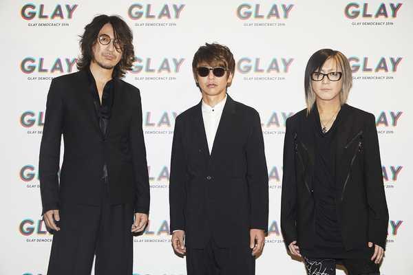 5月25日(土)@『GLAY 25周年公約発表会』 photo by 斎藤大嗣
