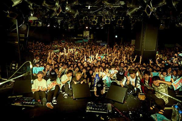 7月25日@渋谷CLUB QUATTRO photo by イシワタ タツル