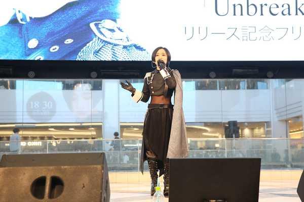 1月15日@東京・池袋サンシャインシティ噴水広場